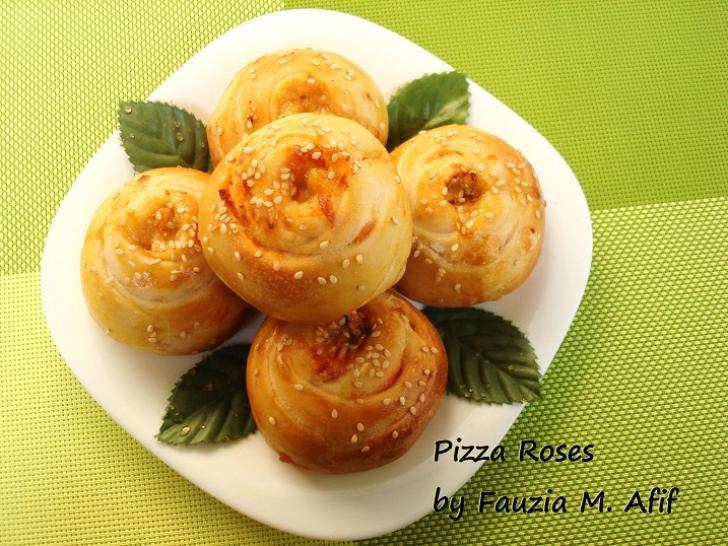 Fauzia Kitchen Fun Pizza Rose